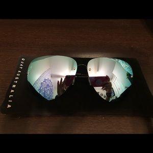 Quay Australia muse reflective sunglasses
